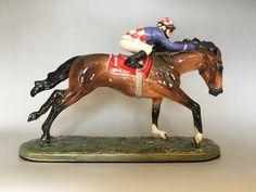 Handmade and custom glazed portrait of the only Triple Melbourne Cup winner. Melbourne Cup Winners, Horse Portrait, Brisbane Australia, Horses For Sale, Glazed Ceramic, Earthenware, Bone China, Pony, Lion Sculpture