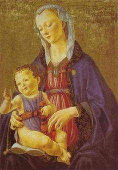 Madonna and Child - Domenico Ghirlandaio c.1470 National Gallery of Art, Washingon, DC, USA
