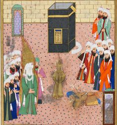 Images of Prophet Muhammad from Islamic Art and History before the clan of Ibn Saud took Muslims hostage Islamic World, Islamic Art, Prophets In Islam, Medieval Paintings, Islamic Paintings, Russian Painting, Prophet Muhammad, Illuminated Manuscript, Religious Art