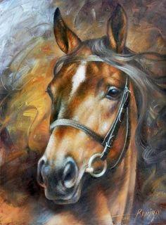 pinturas-arte-oleos-de-caballos
