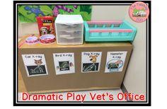 Dramatic Play Pet Vet on The Teaching Zoo Blog