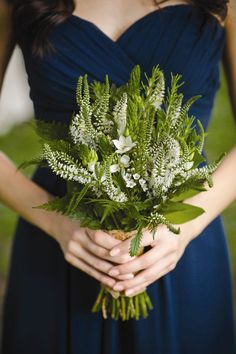 Lovely Green Bridesmaid Bouquet, You WIll Love It