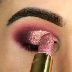 Chip-Make-up Makeup - makeup products - makeup tutorial - makeup tips - Source makeup for brown eyes Makeup Eye Looks, Eye Makeup Steps, Beautiful Eye Makeup, Cute Makeup, Smokey Eye Makeup, Eyebrow Makeup, Skin Makeup, Eyeshadow Makeup, Shimmer Eyeshadow