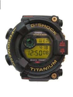 d56b5dfe3a22 Auth CASIO G-shock 7th Anniv. Frogman DW-8201NT Quartz Titanium Resin Men s