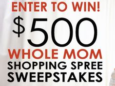 Fill out the short entry form to enter and win a $500.00 gift card from Walmart, Amazon, or Target. That's it!