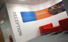 Navitus Bay interior branding | Michon Creative