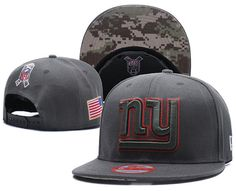 NFL BRAND NEW New York Giants Salute to Service New Era Straight Snapback  Hat 953749a3c5ce4