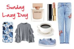 """""""Today"""" by milena-lister-quevedo on Polyvore featuring moda, Citizens of Humanity, Chicwish, Puma, Chanel y Narciso Rodriguez"""