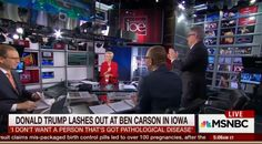 'Oh, My God': See the Part of 'Epic' Donald Trump Rant That Literally Makes MSNBC Guest Get Out of His Chair and Applaud