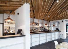 Studio Tilt's Proud Archivist interior echoes Georgian coffee houses