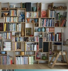 I bet I could do this with salvaged wood and old wine boxes.