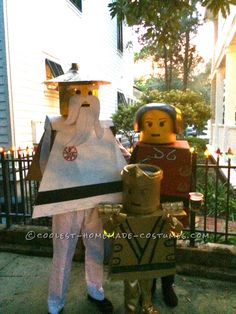 LEGO Ninjago Family Reaches Full Potential... Coolest Halloween Costume Contest