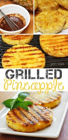 #11. Grilled Pineapple -- 18 Things You Didn't Know You Could Grill