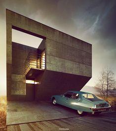 apostrophe9 • hoodzielec: House no. 118 Project and viz.:...
