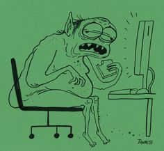 You will become a goblin. | 7 Reasons Why You Should Stop Eating Lunch At Your Desk