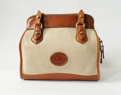 Vintage Dooney and Bourke Shoulder Bag Brown by thespeckledperch,