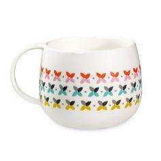 Un Mug plein de Délicatesse et de Gaité avec ces jolies Petites Croix Multicolores créé par Mr