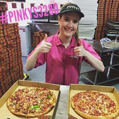 Aj cooking pizzas tonight at #pinkyspizza #love3280 #pizza #eat3280 #pinkys3280 #warrnambool @destinationwarrnambool by destinationwarrnambool