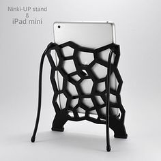 style with this stand for ipad mini design natural, bird nest