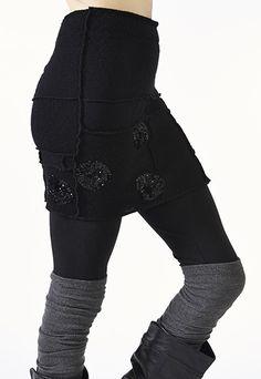 Black Sweater Skirt