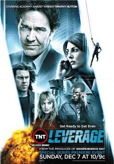 Leverage (TV Series 2008–2012)  This show is so much fun.  One of my current netflix favorites.