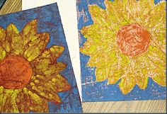 Step-by-Step Crayon Batik - uses melted wax (crayon) and a hot iron, so this one is for grown-ups, not kiddos! Wax Paper Crafts, Crayon Crafts, Crayon Art, Crayon Canvas, Crayon Painting, Arts And Crafts For Teens, Art For Kids, 7th Grade Art, Batik Art