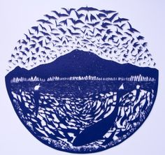 Paper Cut Art By Sarah Dennis (Bristol, England)