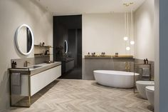 A full bathroom makeover is made easy by Scavolini's latest collection Old Bathrooms, Small Bathroom, Bathroom Modern, Bathroom Storage, Best Bathroom Vanities, Bathroom Tile Designs, Bathroom Ideas, Modern Shower, Wall Mounted Shelves