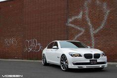 BMW 750 On 24s | BMW 7 Series Vossen Need 4 Speed Motorsports