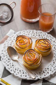 Rose de Pommes feuilletées - Cuisine Addict