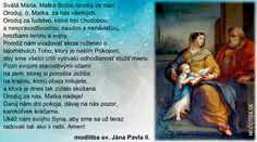 Modlitba k Nepoškvrnenej Panne Márii – Modlitba. Cover, Books, Movie Posters, Tricot, Libros, Book, Film Poster, Book Illustrations, Billboard