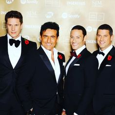 Good morning with four dashing guys at the MIT awards in 2015! (Photo JMEnternational). Thanks for the interest in our newest web section. The development phase for the surprise for the fans and these @ildivo_official guys (yes it will be about the four of them!) is going faster than planned. Soon a few members of my fan club team will hopefully be curating the content that YOU their faithful fans will be providing! I know it will be a STUNNING project to celebrate the guys! Off to work now…