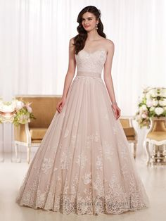 Gorgeous Sweetheart A-line Lace Wedding Dresses