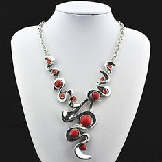 Necklace+Vintage+Necklaces+Jewelry+Party+/+Daily+/+Casual+/+Sports+Fashion