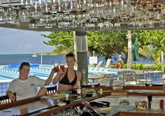 "Deep End Bar & Restaurant. Green Cay Marina, Tamarind Reef Resort, St. Croix, USVI. ""The Deep End Bar & Restaurant is a great location to enjoy a cold beverage and tasty breakfast, lunch or dinner. We are casual in a breezy open-air environment overlooking Tamarind's fabulous pool and beach."""