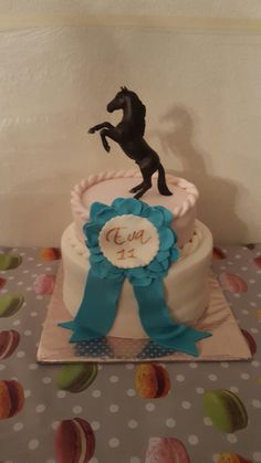 Eva's birthday cake.. She loves horses🐎💖