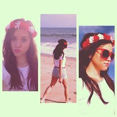 Megan Nicole Megan Nicole, Beach Day, Polaroid Film, Instagram Posts