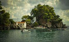 Το Νησάκι της Παναγίας στην Πάργα - Panagia island in Parga Greece, Island, Inspiration, Art, Christian Louboutin Shoes, Pumps, Greece Country, Biblical Inspiration, Art Background