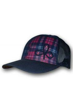 Cowboy Hooey - Jackpot Cloverleaf Trucker Hat (Multi-color Plaid) Caballos 661365ee746