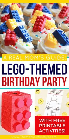 This guide will give you everything you need to know to throw an awesome--and totally doable--Lego birthday party. Simple ideas that give you maximum bang for your buck to create a party your Lego-loving kiddo will love!