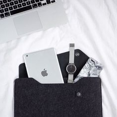 Macbook Sleeve - By @whitetwite - Available on mujjo.com or through resellers worldwide.#mujjo