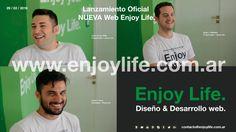 Lanzamiento Oficial  NUEVA Web Enjoy Life.