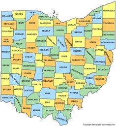 """The name """"Ohio"""" originated from Iroquois word ohi-yo', meaning """"great river"""" or """"large creek"""". The state, originally partitioned from the Northwest Territory, was admitted to the Union as the 17th state (and the first under the Northwest Ordinance) on March 1, 1803."""