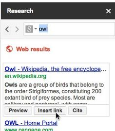Google Research Tool