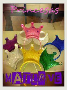 diademas para las princesas de matlove