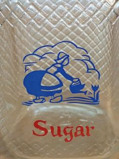 Vintage Hazel Atlas Waffle Glass Spice Shaker Sugar Jar Dutch   Etsy