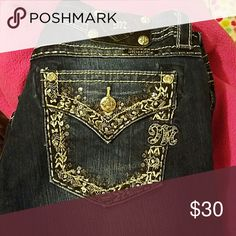 Miss me jeans Great condition barely worn Jeans Flare & Wide Leg