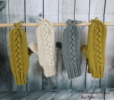 Knit Mittens, Knitted Hats, Wool, Knitting, Gloves, Scarves, Threading, Creative, Tricot