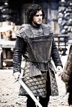 Game of Thrones: Kit Harington as Jon Snow Hbo Tv Series, Best Series, Series Movies, Movies And Tv Shows, Game Of Thrones Costumes, Hbo Game Of Thrones, Jon Snow, Winter Is Here, Winter Is Coming
