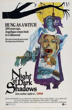 Night Of Dark Shadows Movie Poster Puzzle Fun-Size 120 pcs